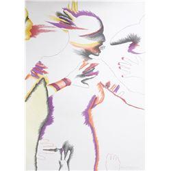 Marisol Escobar, Lizard Kiss, Lithograph