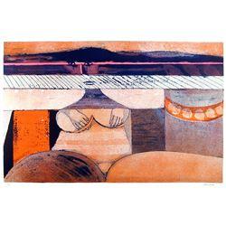 Hans Graeder, Nude 1, Lithograph