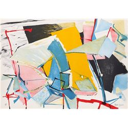 Jasha Green, Untitled 14, Lithograph