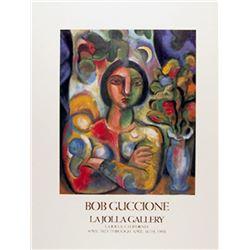 Bob Guccione, La Jolla gallery, Poster