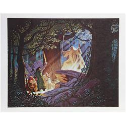 Tim and Greg Hildebrandt, Gandalf the White, Lithograph