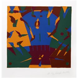 Douglas Leichten, Bold Geometric Abstract 1, Serigraph