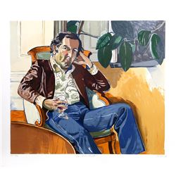 Alice Neel, The Accountant (Marvin), Lithograph
