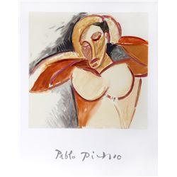 Pablo Picasso, Buste d'Homme, Lithograph