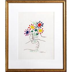 Pablo Picasso, Le Bouquet, Offset Lithograph