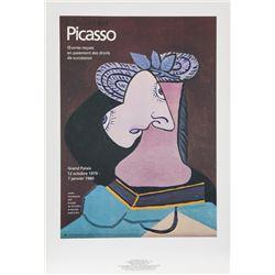 Pablo Picasso, Le Chapeau de Paille au feuillage Bleu, Lithograph