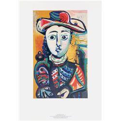 Pablo Picasso, Jeune Femme Assise dans un Fauteuil, Lithograph