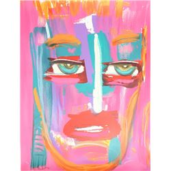Donna Summer, Passion (Face to Face), Lithograph