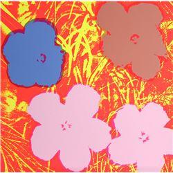 Andy Warhol, Flowers 10, Serigraph, Sunday B. Morning