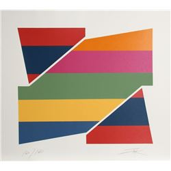Larry Zox, Rotation I, Serigraph