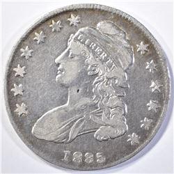 1835 BUST HALF DOLLAR, VF/XF