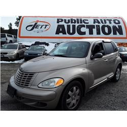 A2 --  2003 CHRYSLER PT CRUISER , Brown , 162615  KM'S