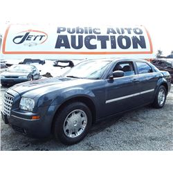 "A5 --  2007 CHRYSLER 300 , Blue , 213500  KM's  ""NO RESERVE"""