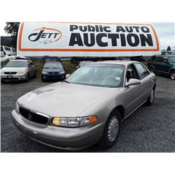 A4 --  2000 BUICK CENTURY , Brown , 171455  KM's