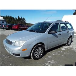 D3 --  2007 FORD FOCUS ZXW , Grey , 129939  KM's