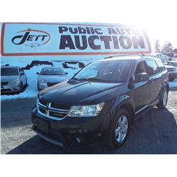 H3 --  2012 DODGE JOURNEY  , Black , 151898  KM's