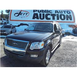 J1--2006 FORD EXPLORER XLT SUV, GREY, 171,292 KMS