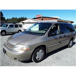 G4 --  2001 FORD WINDSTAR LX , Yellow , UNKNOWN  KM's