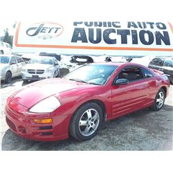 D2 --  2003 MITSUBISHI ECLIPSE GS , Red , 221853  KM's