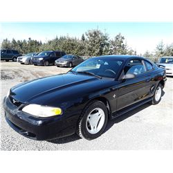 A7 --  1997 FORD MUSTANG , Black , 173003  KM's