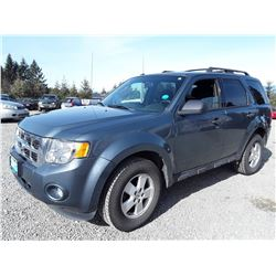 C3 --  2012 FORD ESCAPE XLT , Blue , 178582  KM's