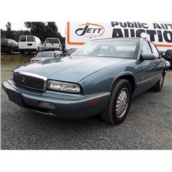 L1 --  1995 BUICK REGAL CUSTOM , Green , 119879  KM's