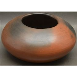 SAN ILDEFONSO INDIAN POTTERY BOWL (ROSE CATA GONZALES)