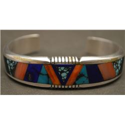 NAVAJO INDIAN BRACELET (YELLOWHORSE)