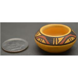 CHEMEHUEVI INDIAN POTTERY BOWL (TERESA WILDFLOWER)