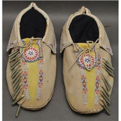 KIOWA INDIAN MOCCASINS
