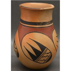 HOPI INDIAN POTTERY VASE (PAVATEA)