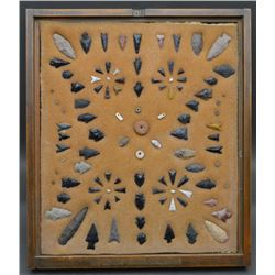 COLLECTION OF  ANASAZI ARROWHEADS AND BEADS