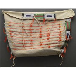 SIOUX INDIAN BEADED POSSIBLE TEEPEE BAG