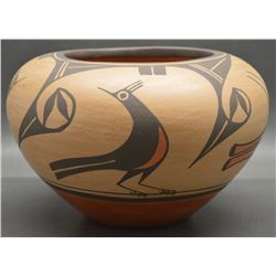ZIA INDIAN POTTERY OLLA (ELEANOR PINO GRIEGO)