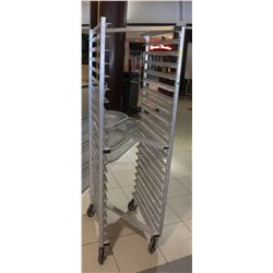 HEAVY DUTY ALUMINUM 20 SLOT BAKING RACK
