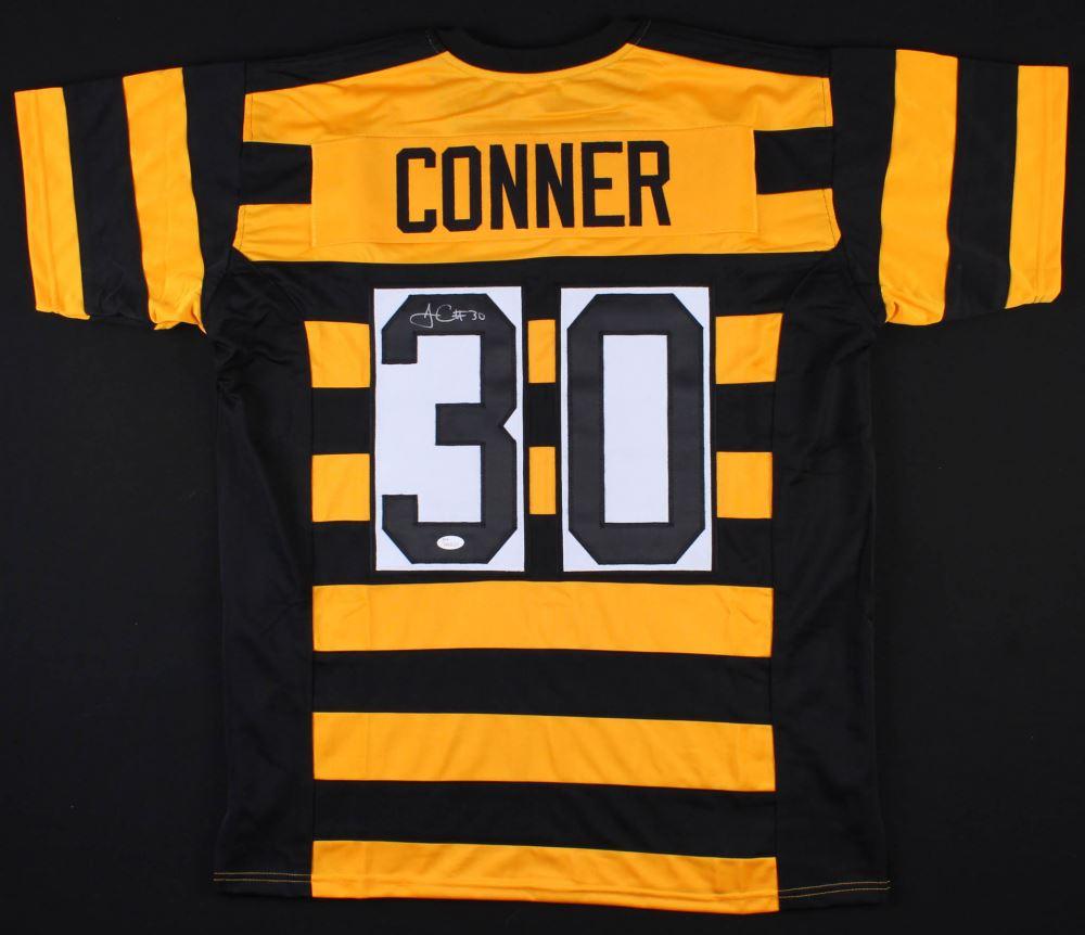 size 40 d75b7 d40f3 James Conner Signed Steelers Throwback Jersey (JSA COA)