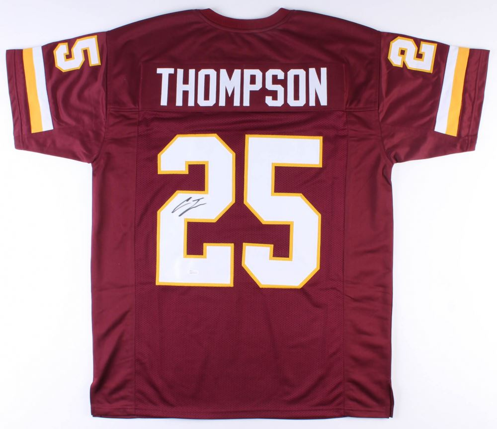 huge discount f1398 2687b Chris Thompson Signed Washington Redskins Jersey (JSA ...