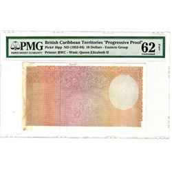 British Caribbean Territories. 1961. Progressive Proof Note.