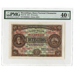 Banco Nacional Ultramarino. 1941. Issued Note.