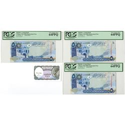 Bahrain Monetary Agency. ND (2008). Replacement Note Trio.