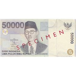 Bank Indonesia. 1999. Issued Banknote.
