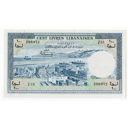 Banque de Syrie et du Liban. 1963. Issued Banknote.