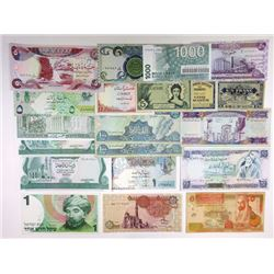 Assorted Middle Eastern & Related Issuers. 1941-1993. Group of 70 Issued Notes.