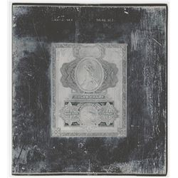 Security Bank Note Co. Color Chart Printing Plate.