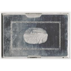 Security-Columbian US Banknote Co. ND (ca. 1940-70's. ). Train Vignette Printing Plate.