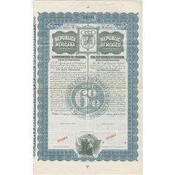 Republic of Mexico, 1904 Specimen Bond.