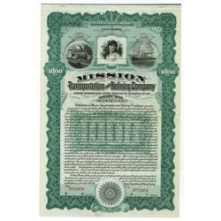 Mission Transportation and Refining Co. Specimen bond.