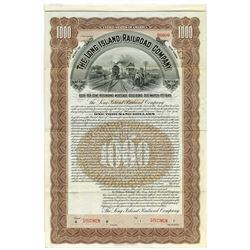 Long Island Railroad Co. 1903 Specimen Bond.