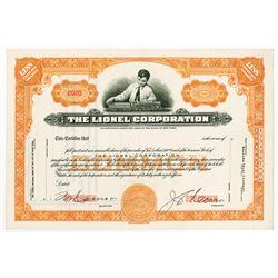 Lionel Corp., ca.1920-1930 Specimen Stock Certificate