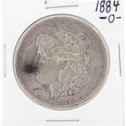 1884-O Filled O Mint Mark $1 Morgan Silver Dollar Coin